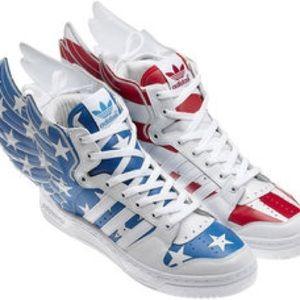 Jeremy Scott x Adidas Wings 2.0 American Flag